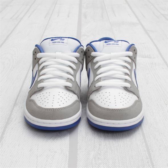 Nike Dunk Low Pro SB - Matte Silver/Varsity Royal