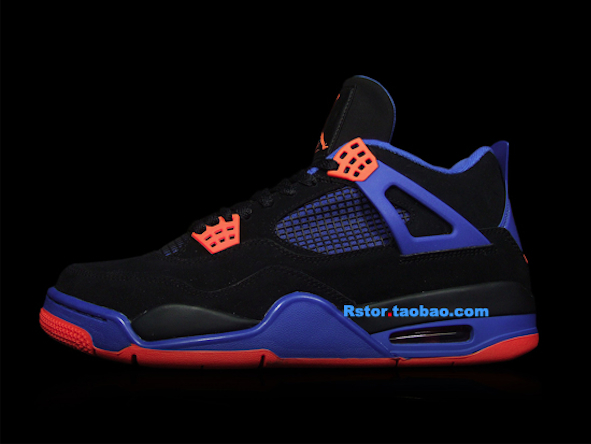 bbde7f11fa1d Another Look  Air Jordan 4 Retro – Black   Orange Blaze – Old Royal ...