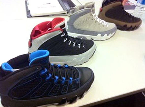 Air Jordan 9 Retro - 2012 Line Up