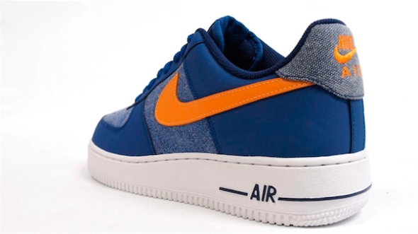 Nike Air Force One Low - Blue/Yellow-White