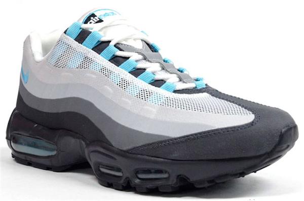 the best attitude 6a438 4e0c2 cheapest nike air max 95 no sew grey black sax blue 48f8c 2f25a
