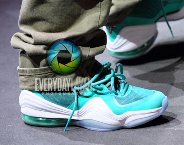 "Wale Performs in the Nike Air Penny 5 ""Miami Dolphins"""